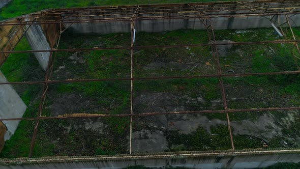 Thumbnail for Abandoned Factory Aerial View