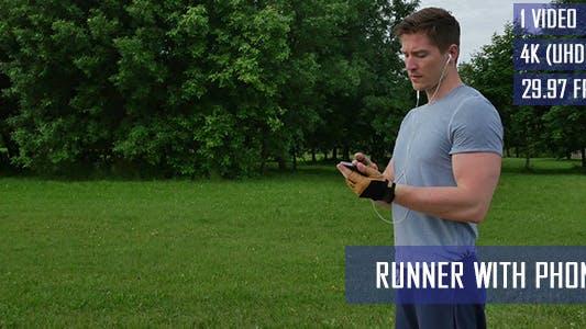 Thumbnail for Runner Using Smart Phone