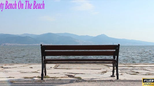 Thumbnail for Empty Bench On The Beach