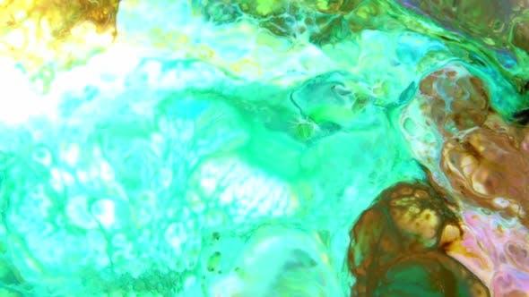 Multicolor Liquid Paint Surface 21