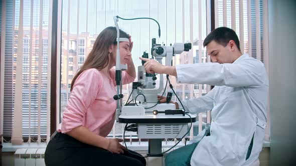 Thumbnail for Ophthalmology Treatment with Woman