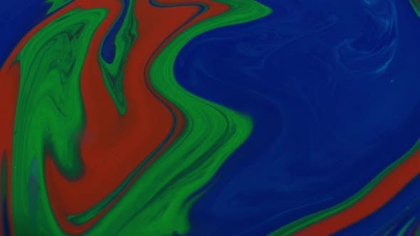 Thumbnail for Abstract Colours Color Mixing Paint Background Texture