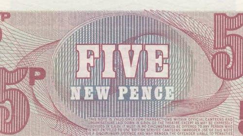 England Pound Bank Note
