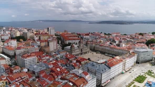 Thumbnail for Maria Pita Square, A Coruña in Spain