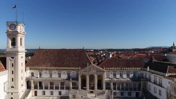 Thumbnail for Facade Of University of Coimbra, Portugal