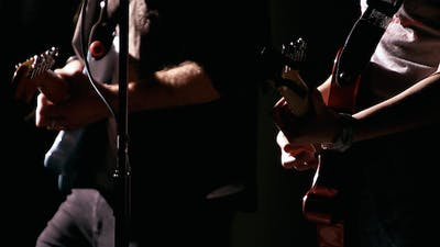 Guitarists Jamming