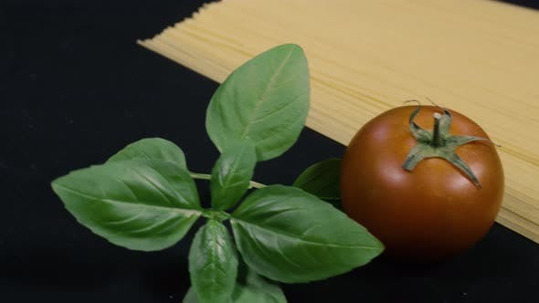 Thumbnail for Fresh Basil Tomato And Spagetti
