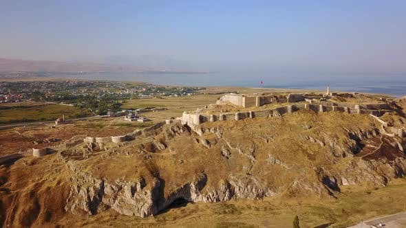 Thumbnail for Historical Eastern Fortress, Van Castle on Rocky Hill and Mosques