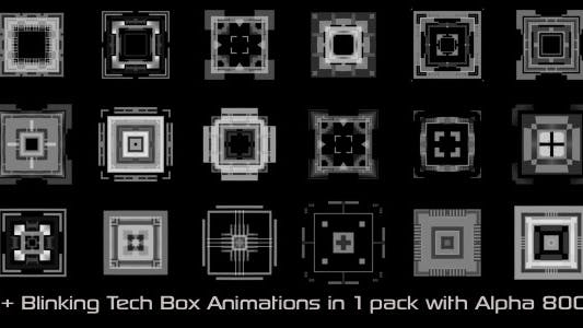 Thumbnail for Blinking Tech Boxes Pack