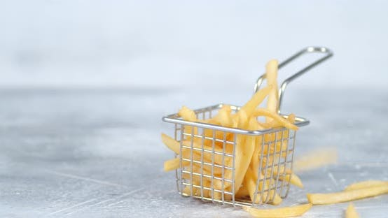 Thumbnail for Fries Falls Into the Basket