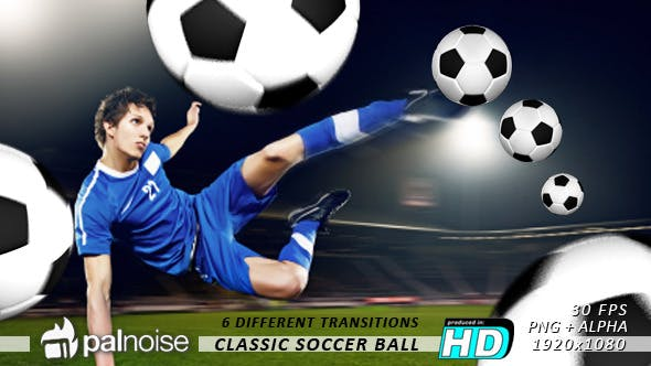 Thumbnail for Soccer Classic Ball Transitions (6-Pack)