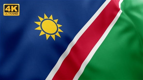 Thumbnail for Namibia Flag - 4K