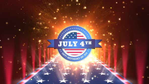 Thumbnail for July 4th Logo Opener