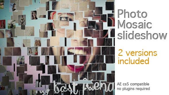 Thumbnail for Photo Mosaic Slideshow