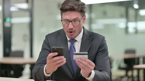 Thumbnail for Online Payment Failure on Smartphone By Middle Aged Businessman