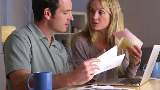 Thumbnail for Couple arguing over their finances