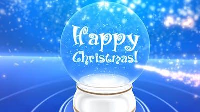 Glass snowball