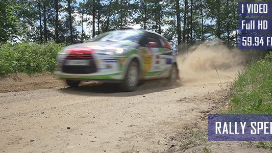 Thumbnail for Rally Racing Car
