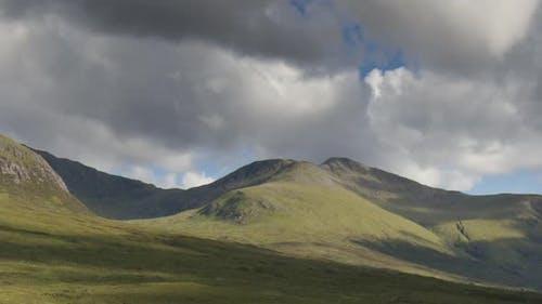 highlands scotland timelapse mountains