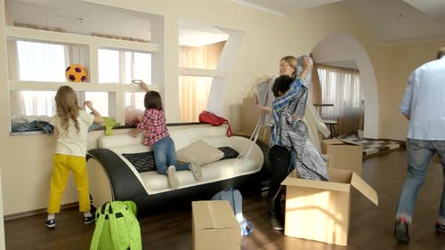 Family with Children Moving In