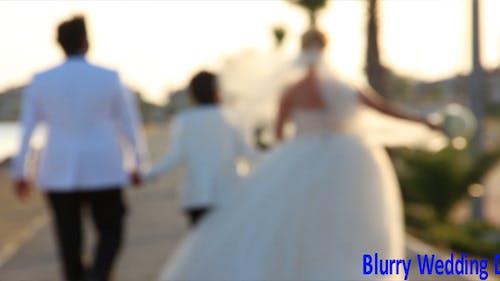 Blurry Wedding Day