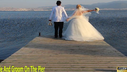 Thumbnail for Bride And Groom On The Pier