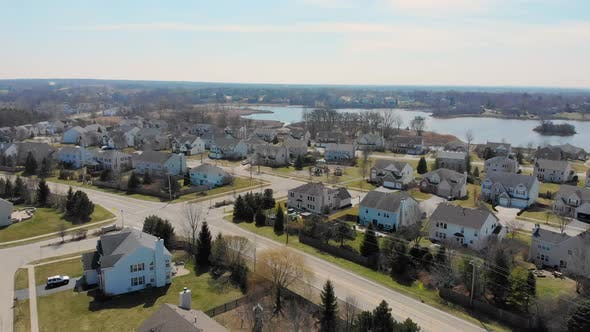 Politics Over the Small Town of Wauconda in Illinois, Beautiful Views of Small Settlements