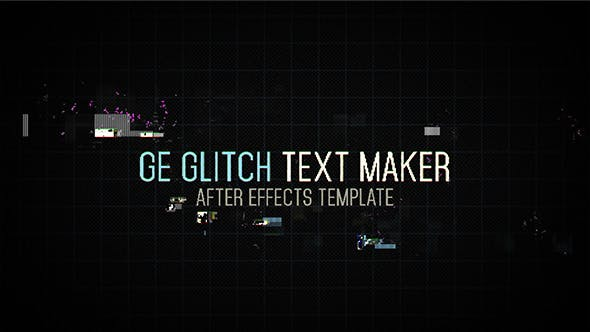 Thumbnail for Ge Glitch Text Maker