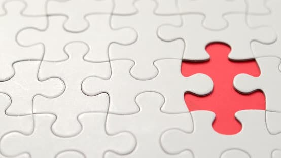 Thumbnail for Completing Jigsaw puzzle with one pieces