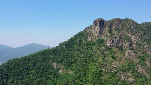 Cover Image for Hong Kong lion rock mountain