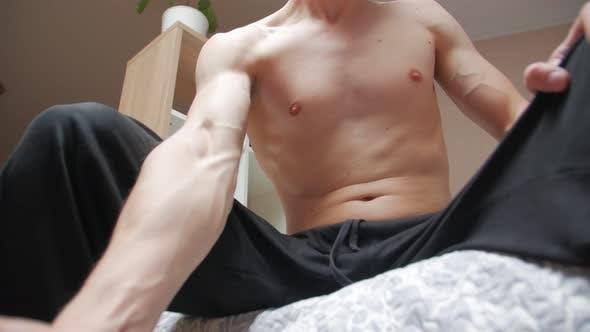 Dumbbell Biceps Exercising