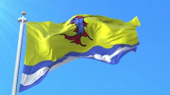 Flag of Drome, France