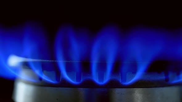 Thumbnail for Gas Stove on Black Background