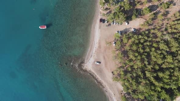Sea Beach Aerial