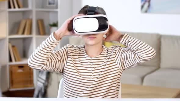Thumbnail for Boy Using Virtual Reality Headset