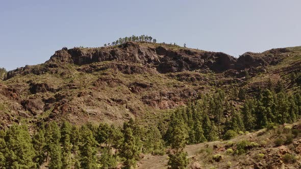 Thumbnail for Beautiful Landscape Shot of Gran Canaria Valley, Spain