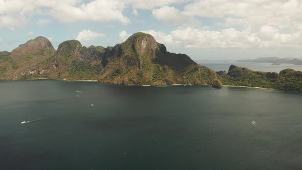 Thumbnail for Seascape with Tropical Islands El Nido, Palawan, Philippines