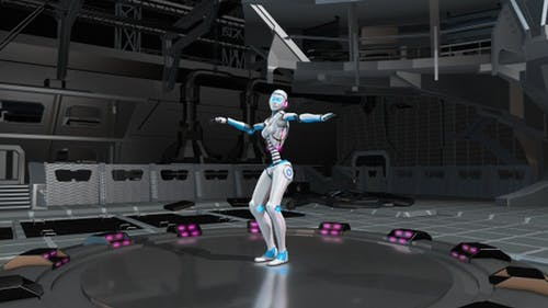 Sexy Robot Belly Dancing