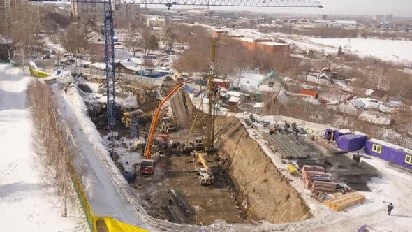 Timelapse Building Construction