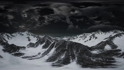 Thumbnail for VR 360 Norway Mountains Paysage sévère