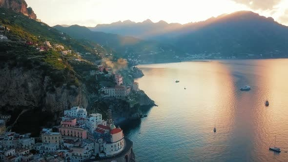 Atrani By Dawn in Amalfi Coast