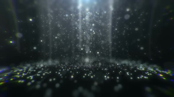 Thumbnail for Falling Glittering Particles 03