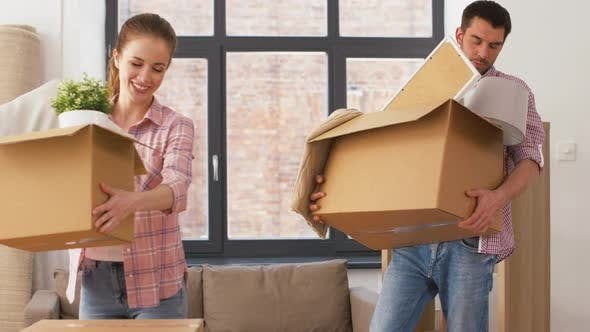 Cover Image for Couple Moving To New Home and Making High Five