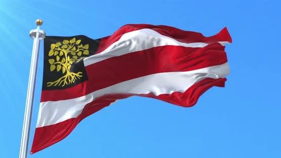 s-Hertogenbosch Flag, North Brabant, Netherlands