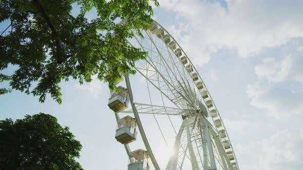 Thumbnail for Low angle view of the Budapest eye
