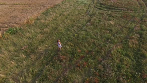 Thumbnail for Beautiful Woman in a Field