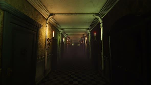 4K Horror Hotel Corridor
