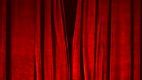 Stage Curtain Open