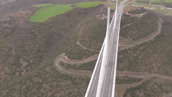 Thumbnail for Aerial view of the Millau Viaduct