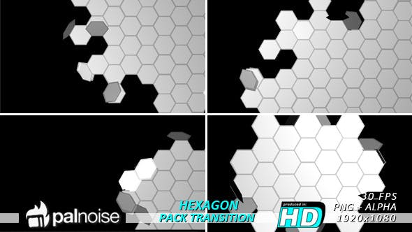 Thumbnail for Fold Unfold Hexagons Transitions (5-Pack)